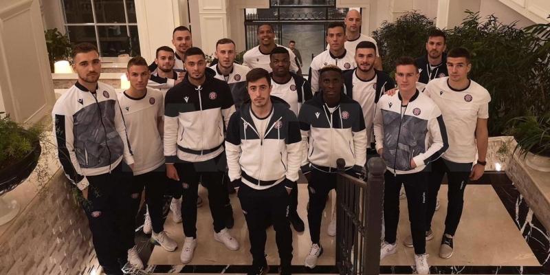 VIDEO: Hajdukovci stigli u Belek, dočekao ih Zoran Nižić