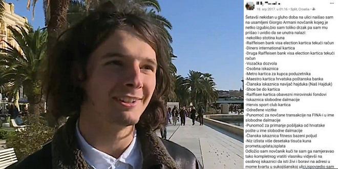 ODUŠEVIO NEPOZNATOG ČOVJEKA Zavadlav je prije dvije godine objavio jednu svoju situaciju iz Splita, danas se ta priča dijeli preko društvenih mreža