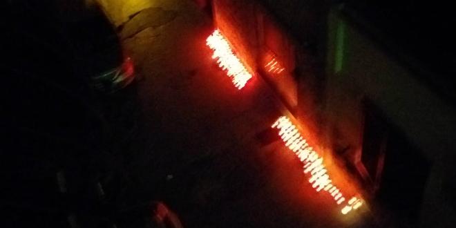 ODALI MU POČAST: U Radmilovićevoj zapaljene svijeće za ubijenog Marina Paića