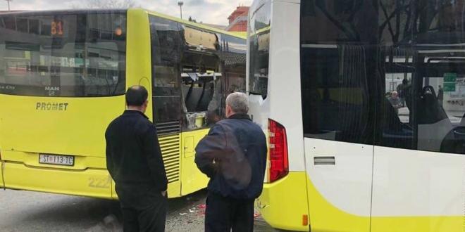NA SUKOIŠANSKOJ 'Poljubili' se Prometovi autobusi