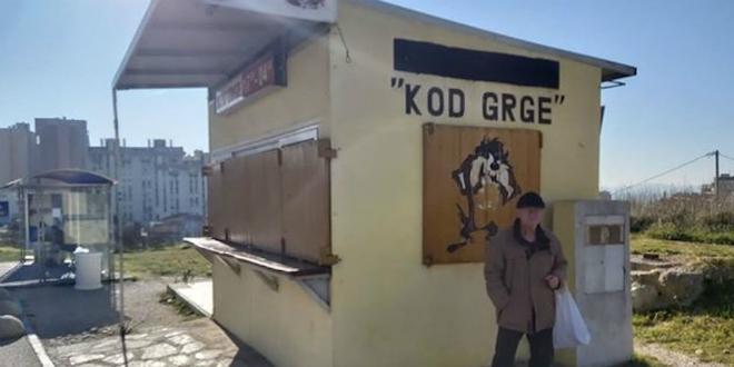 KOD GRGE 'Odzvonilo' poznatom splitskom kiosku na vrhu Sućidra