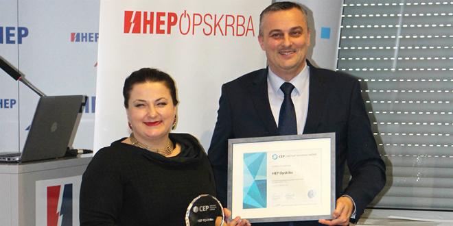 HEP Opskrba po drugi put nagrađena certifikatom Poslodavac Partner