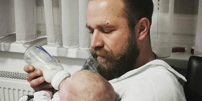 PRESLATKO: Pogledajte kako Ivan Pažanin hrani svog nećaka
