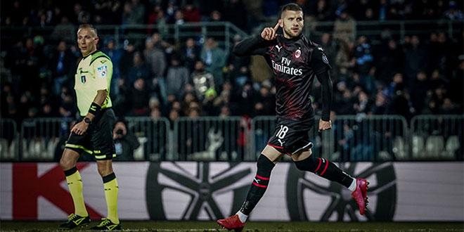 Rebić zabio za Milan i udaljio Lazio od borbe za titulu!