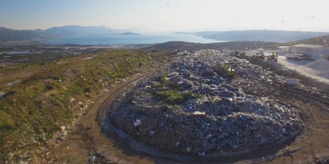 FOTO I VIDEO Počeli radovi na sanaciji trogirskog odlagališta otpada Vučje brdo