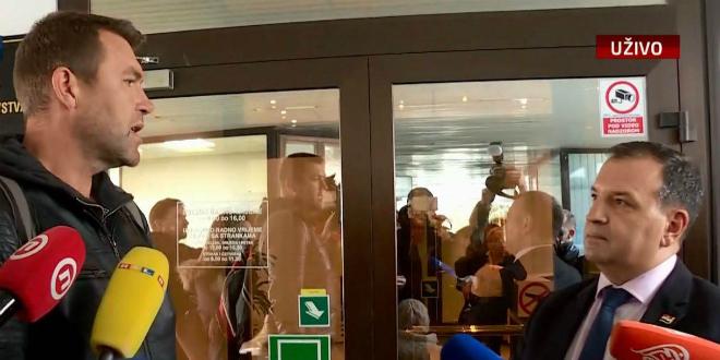 Matičević nakon 14 dana hodanja kroz Hrvatsku stigao u Zagreb, evo što mu je rekao Vili Beroš