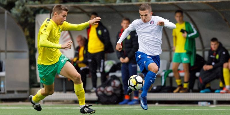 Hajdukovac zabio u završnici za pobjedu U19 reprezentacije Hrvatske