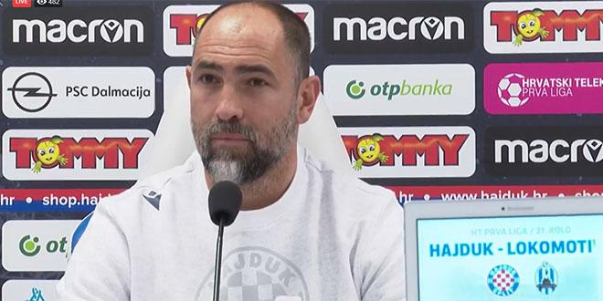 VIDEO Igor Tudor: Zadavit ću sve koji će staviti svoje interese ispred ekipe i Hajduka!