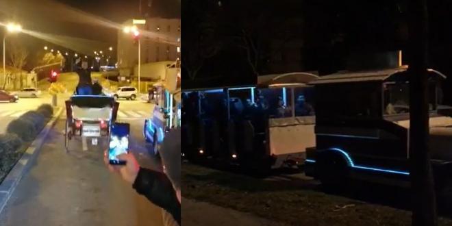 NOVA RAZINA ZABAVE U SPLITU: Proslava rođendana karuselom u kočiji i vlakiću