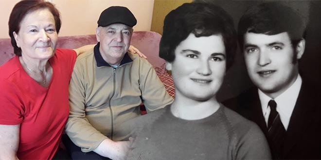 Zlatni pir obitelji Slišković: 'Zahvalni smo na prekrasnih 50 godina zajedničkog života'