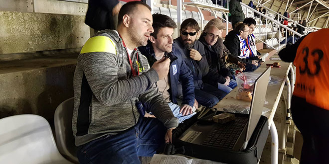 Hajduk je pružio priliku i mogućnost slabovidnim osobama da dožive utakmicu na drugačiji način