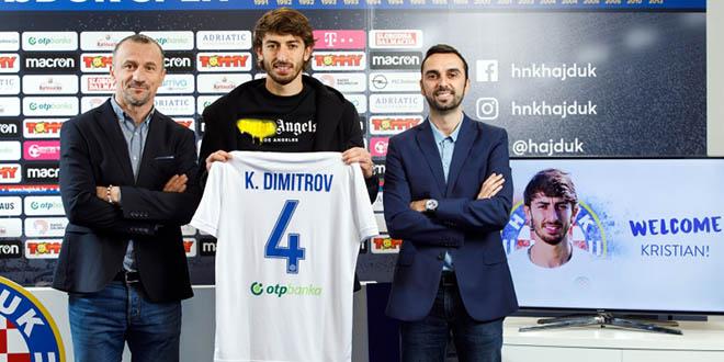 SLUŽBENO Kristian Dimitrov potpisao za Hajduk!