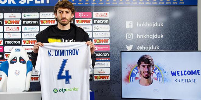 INTERVJU Kristian Dimitrov: Čim je stigao poziv Hajduka, nije bilo dileme