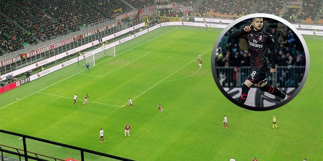 VIDEO: Rebić zabio za pobjedu Milana, pogledajte kako mu San Siro skandira