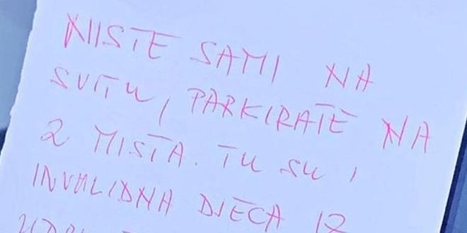 Pristojna poruka iz Splita: 'Niste sami na svitu...'