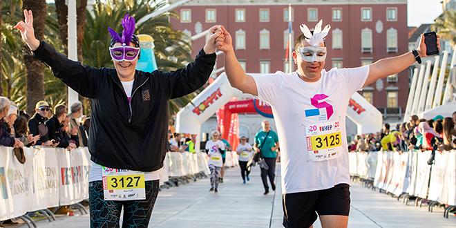 TROFEJ SLOBODNE DALMACIJE Na današnjoj utrci sudjelovalo je 500 trkača iz 23 zemlje