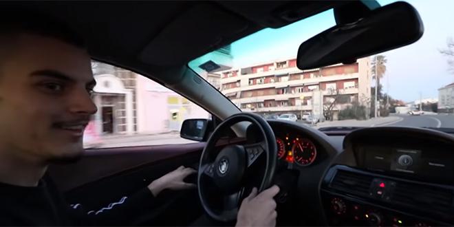 SPLITSKI MAD MAX GLEDANIJI OD TOP GEARA Petričević zbog novog videa pod krim istraživanjem, BMW voze u stanicu za tehnički pregled
