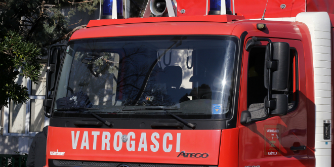 Ugašen je požar na predjelu Oštre glavice na sjevernoj strani Kozjaka