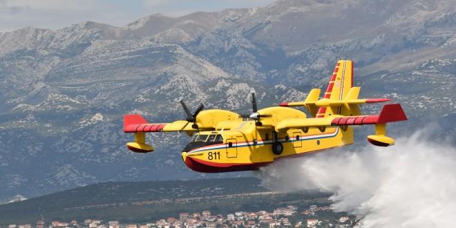 NOVI PRAVILNIK: Tko izazove požar, platit će let kanadera 71.889 kuna, naplaćivat će se i lažne dojave