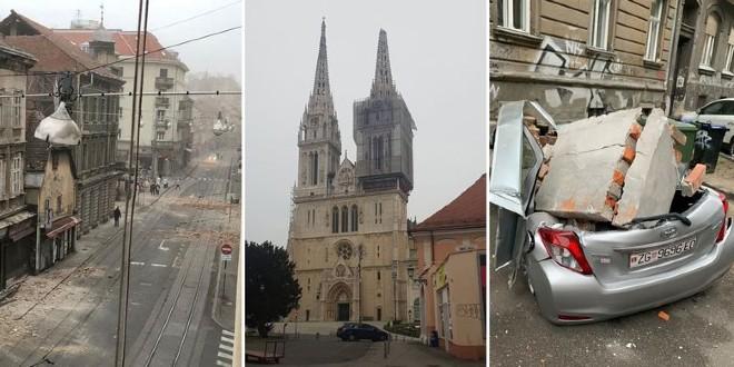 VIDEO Posljedice razornog potresa u Zagrebu i okolici