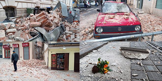 Zagreb 'lijepi' kazne za nepropisno parkiranje članovima spasilačkih timova nakon potresa