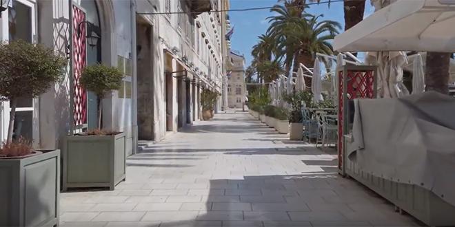 VIDEO Niste odavno bili u centru Splita? Pogledajte kako je tamo...