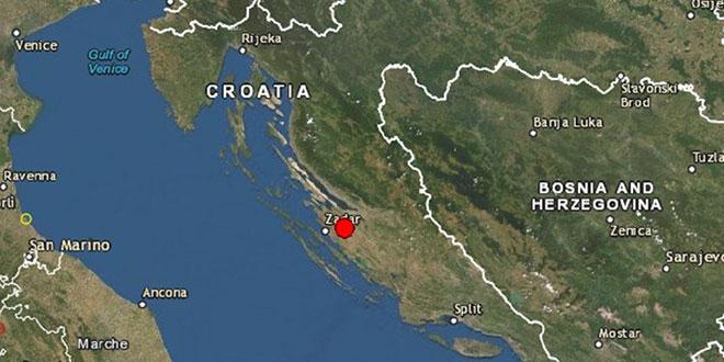 Potres zatresao Zadar