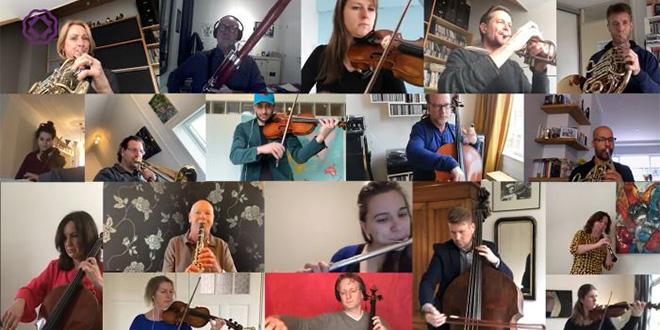 FASCINANTAN VIDEO: 19 glazbenika izvelo Odu radosti, svatko iz svog doma
