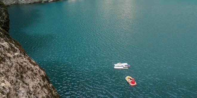 Iz Crvenog jezera izvađena vrata i prozori te dijelovi flipera