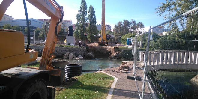 FOTOGALERIJA Završena izgradnja sustava odvodnje na Gospinom otoku