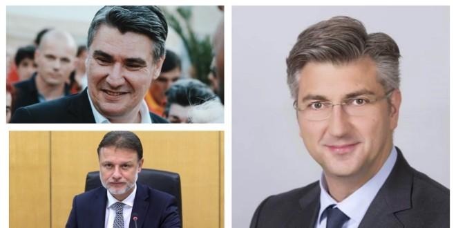 ISTRAŽIVANJE Milanović glavni pozitivac, Jandroković glavni negativac
