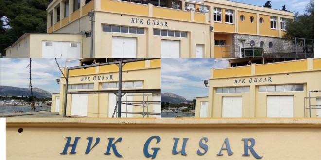 NESREĆA NA POLJUDU Gliserom prepolovio čamac s mladim veslačima HVK Gusar