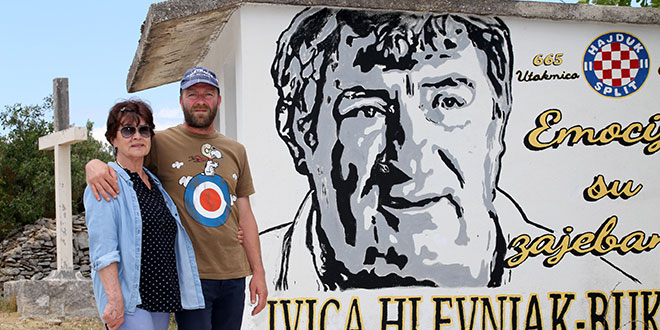 PRIČE IZ DALMACIJE: Posjetili smo familiju Hlevnjak i mural koji ima dušu