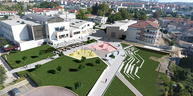 FOTOGALERIJA: Gradina dobiva novu ljetnu pozornicu sa 760 sjedećih mjesta