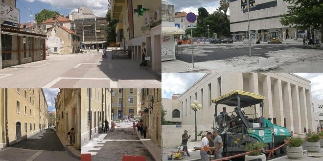 Zeleni Dalmacije: Sramotno je da asfalt 'ljubi' kazališnu zgradu