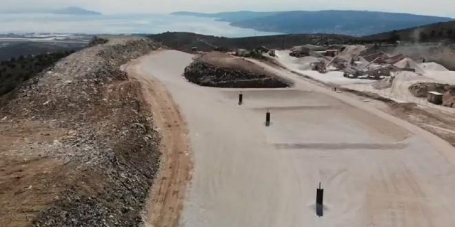 VIDEO Dovršena je prva faza sanacije trogirskog odlagališta otpada 'Vučje brdo'