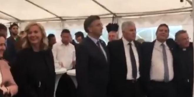 MOJA ZEMLJA HERCEGOVINA: Poslušajte premijera kako pjeva u Mostaru