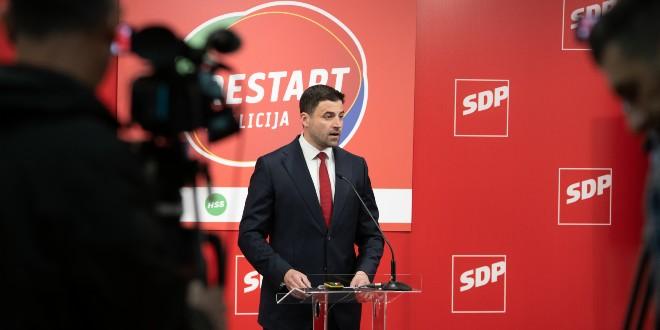BERNARDIĆ: Spreman sam otići, sutra ćemo o tome razgovarati na Predsjedništvu stranke