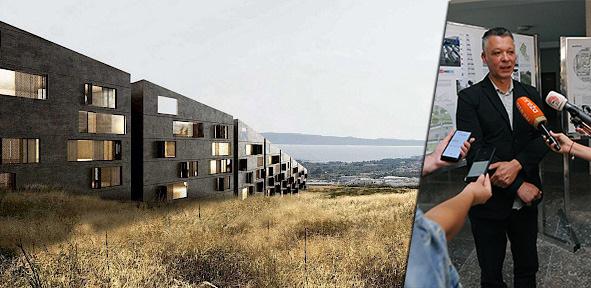 NA KOREŠNICI 1140 STANOVA Predstavljen projekt novog naselja sa spektakularnim pogledom prema moru i gradu