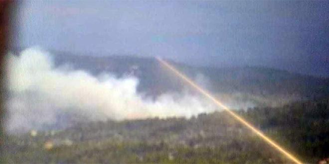 Veliki požar na Hvaru, grom zapalio šumu