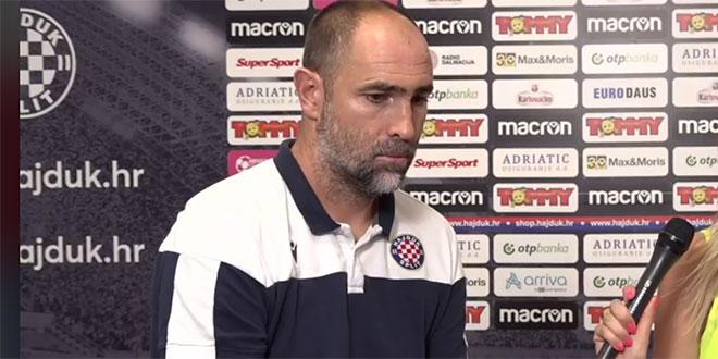 Igor Tudor: Na meni je da izvučem maksimum u ova tri kola, a onda ćemo sjesti svi zajedno i donijeti najbolje odluke za klub