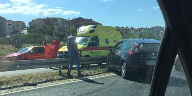 GUŽVA NA SPLITSKIM CESTAMA Prometna nesreća, semafor izvan funkcije...