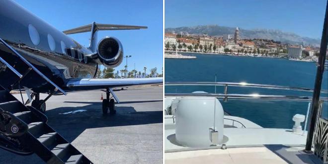 Američki milijunaš Dan Bilzerian stigao u Split