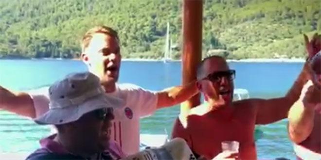 VIDEO Pogledajte kako Manuel Neuer pjeva hit 'Lijepa li si'