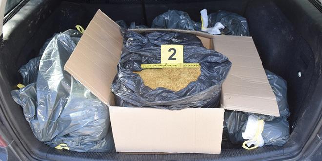 Policija mu pronašla 52,5 kilograma rezanog duhana