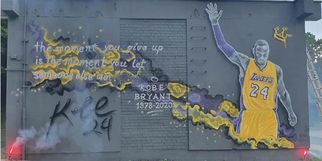 SPALATO OSVOJIO KRIŽEVCE Kobe Bryant dobio prvi mural u Hrvatskoj