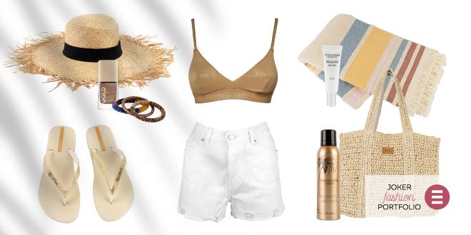 JOKER FASHION PORTFOLIO Što se nalazi na modnoj check-listi za plažu?