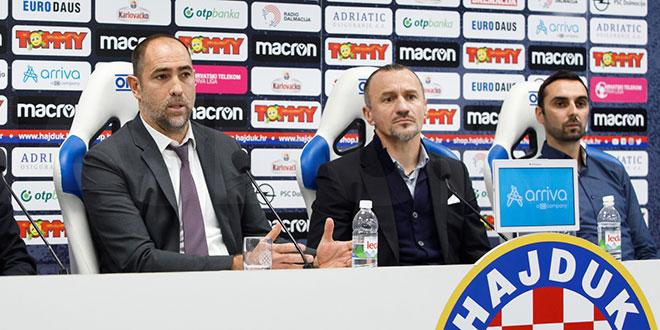 Hajdukova struka bi trebala nastaviti dalje u istom sastavu