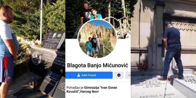 SERIJSKI ZAPIŠIVAČ: Policija traga za muškarcem koji je urinirao na spomenik branitelju