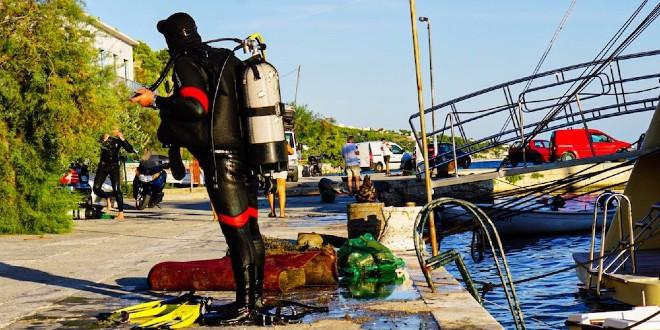 Sutra u Nečujmu na Šolti akcija čišćenja podmorja